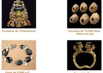 A origem das joias